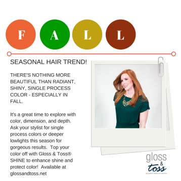 Gloss & Toss Fall Hair