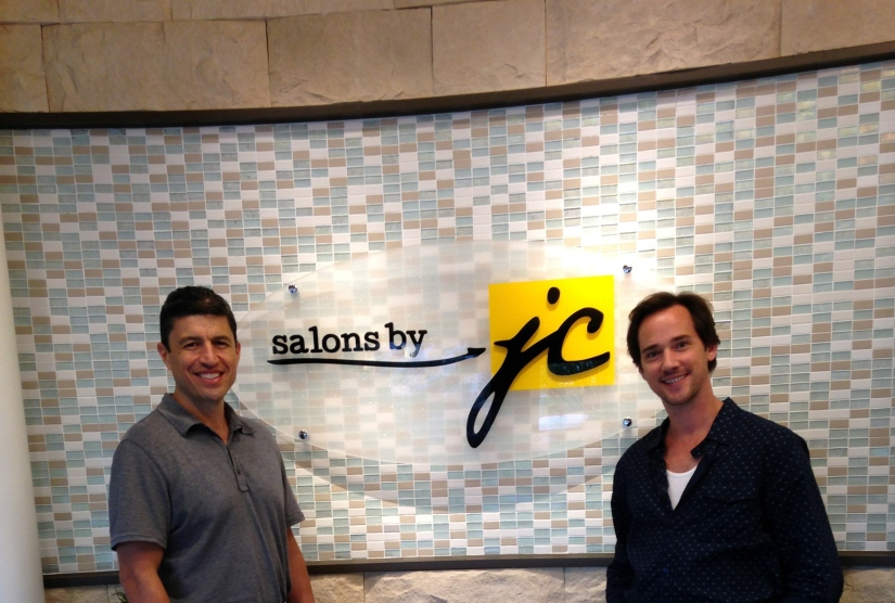 Billy Lowe visits Salons by JC