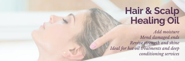 Hair and Scalp Healing Oil Gloss and Toss