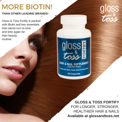 Hair, Skin and Nails with Biotin for Longer, Stronger, Healthy Hair and Nails