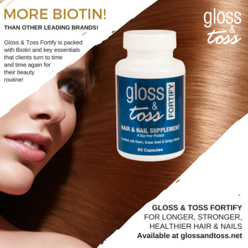 gloss and toss hair skin nails biotin fortify
