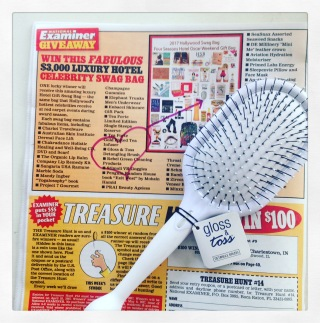 National Examiner Detangle Brush Gloss Toss