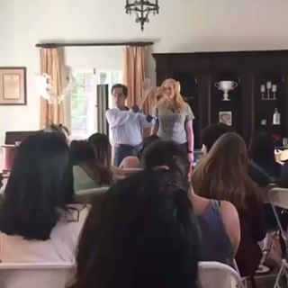 Alpha Gamma Delta Hair Workshop UCLA