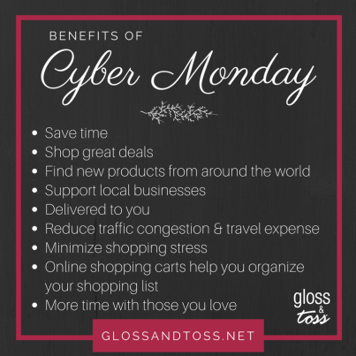 Cyber Monday and Black Friday Holiday Shopping and Gift giving